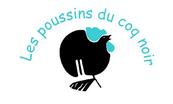 logo poussins du coq noir, animations scolaires et familles