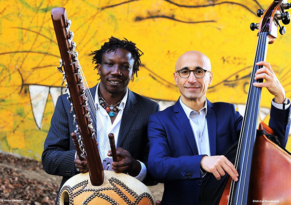 Mouss et Issouf concert de blues africain à la Jasserie du Coq Noir